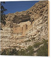 Montezuma Castle National Monument Az Dsc09056 Wood Print