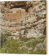 Montezumas Castle 14 Wood Print