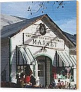 Montgomery County Market Wood Print