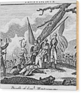 Montgomerys Death, 1775 Wood Print