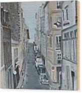 Montmartre Paris France Wood Print