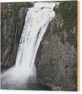 Montmorency Falls - Canada Wood Print
