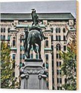 Montreal Boer War Memorial Wood Print