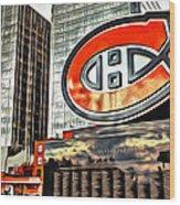 Montreal C Wood Print