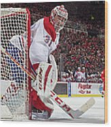 Montreal Canadiens V Detroit Red Wings Wood Print