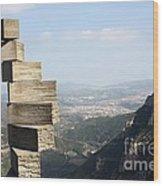 Montserrat Spain Wood Print