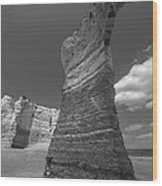 Monument Arch Wood Print