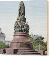 Monument Catherine II Wood Print