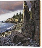 Monument Cove Sunrise 4984 Wood Print