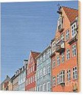 Monument In Copenhagen - Denmark Wood Print