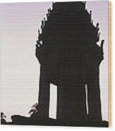 Monument Phnom Penh Cambodia Wood Print