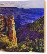 Monument To Grand Canyon  Wood Print