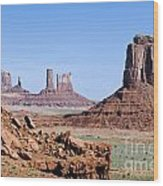 Monument Valley 10 Wood Print