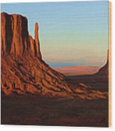 Monument Valley 2 Wood Print