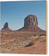 Monument Valley 3 Wood Print