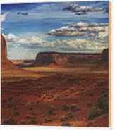 Monument Valley 8 Wood Print