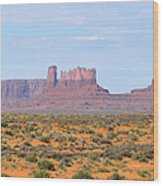 Monument Valley Area Wood Print