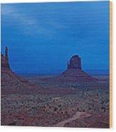 Monument Valley, Arizona Wood Print