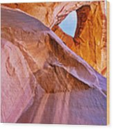 Monument Valley - Eye Of The Sun Wood Print