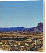 Monument Valley Region-arizona V2 Wood Print