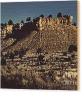 Monument Valley Region-arizona V3 Wood Print