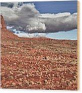 Monument Valley Ut 1 Wood Print
