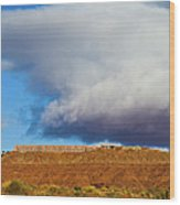 Monument Valley Ut 2 Wood Print