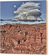 Monument Valley Ut 5 Wood Print