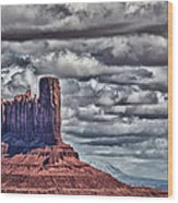 Monument Valley Ut 6 Wood Print