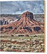 Monument Valley Ut 7 Wood Print