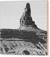 Monument Valley -utah V11 Wood Print