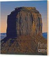 Monument Valley -utah V14 Wood Print