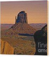 Monument Valley -utah V15 Wood Print