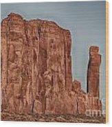 Monument Valley -utah V18 Wood Print