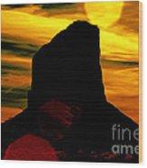 Monument Valley -utah V2 Wood Print