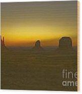 Monument Valley -utah V4 Wood Print