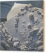 Monumental Urn -- By Clodion? Wood Print