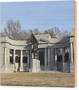 Monutent At Vicksburg National Military Park Wood Print
