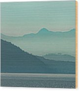 Moods Of Pugeot Sound Wood Print