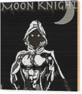 Moon Knight The White Knight Wood Print