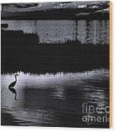 Moon N Ma Bird 2 Wood Print