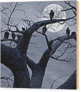 Moon Whisperer II Wood Print