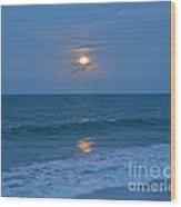 Moonglow Wood Print by Carol  Bradley