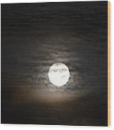 Moonlight In September Wood Print