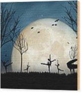 Moonlight Melody..new Wood Print