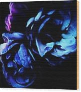 Moonlight Rose Wood Print