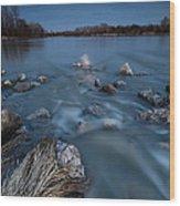 Moonlight Sonata Wood Print by Davorin Mance