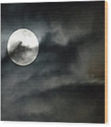 Moonlit Dreams Wood Print