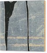 Moonlit Sentinels Wood Print