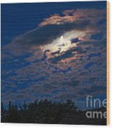 Moonscape Wood Print by Robert Bales